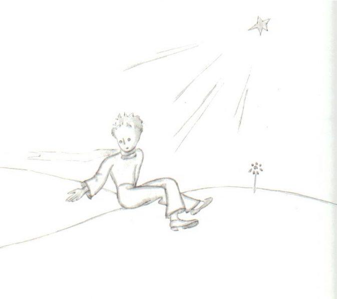 Der Kleine Prinz  etwas mutlos