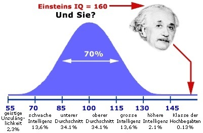 I-Quotient IQ, Bild: deutschlandtests.com
