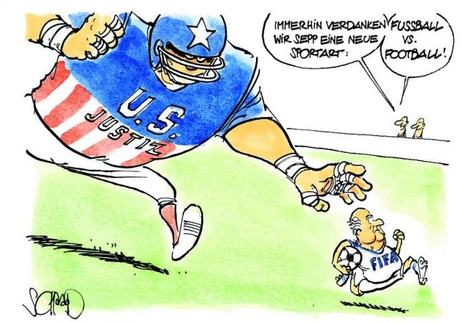 USA Justiz versucht sich in einer neuen Liga, Bild: Felix Schaad Felix Schaad, Berner Zeitung