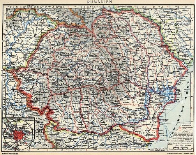 Rumänien 1918