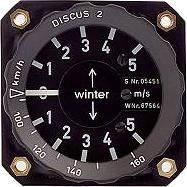 Stauschebenvariometer (Winter)