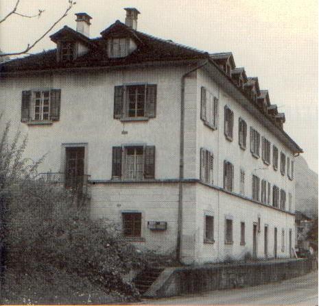 Das alte Fabrikhuis, wo ich einen Teil meiner Jugendzeit verbrachte