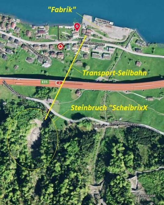"""Steinbruch """"Scheibrix"""""""