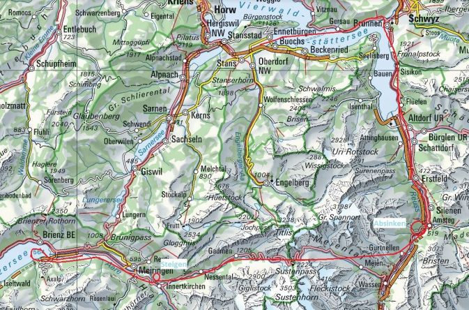Überflug Meiringen Buochs