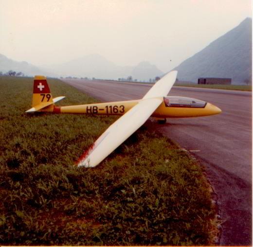 Elfe S4 HB-1163, erbaut durch Wisi Bissig - A.Neukom