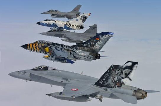 Tiger-Flugzeuge