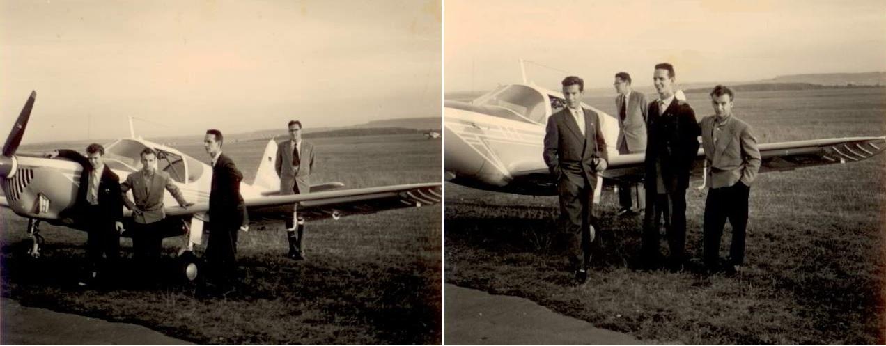 """Wie könnte es anders sein: Lothar führte uns auf """"seinen"""" Flughafen. Und wir bestaunten die Weiten und der verfügbare Platz"""