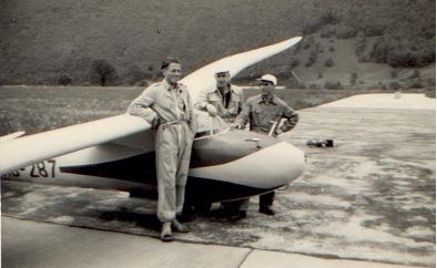 Flugprüfung mit Experte Hermann Schreiber