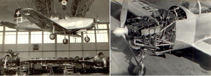 Schulflugzeug P-3