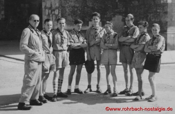 Pfadfer vom Stamm der Wikinger,1951 Worldjamboree in-Bad-Ischl