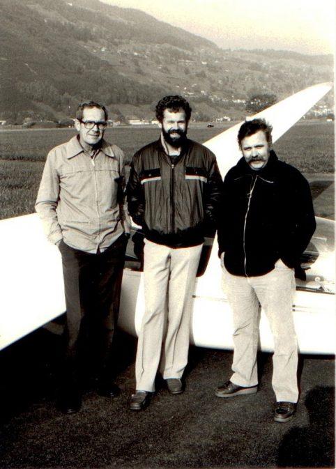Edi, Wisi, Herbie ; Bild H. Odermatt