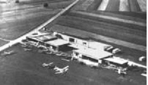 Flugplatz Birrfeld, in den 60-er Jahren