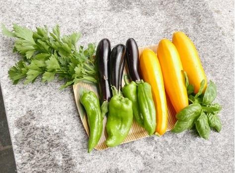 Hansueli Bütschis Gemüse