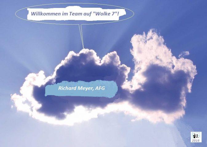 """""""Richi"""" auf Wolke sieben - Bild: Herbie Odermatt"""