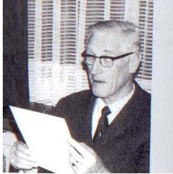 dipl. el. Ing Karl Müller, Chef der Elektronikwerksatt