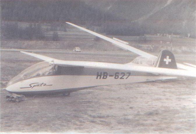 Spatz, HB-627; Foto: Primus Wyrsch