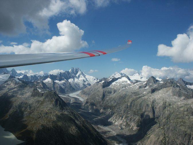 Grimselgebiet - nur Fliegen ist schöner...! Foto: Alois Bissig