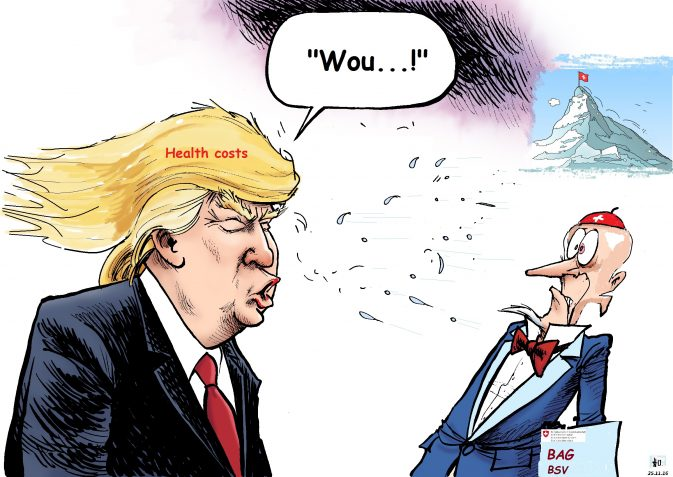Das kämmt sogar einem Trump die Haare nach hinten...!