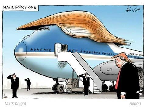 HAIR FORCE ONE - ohne Worte